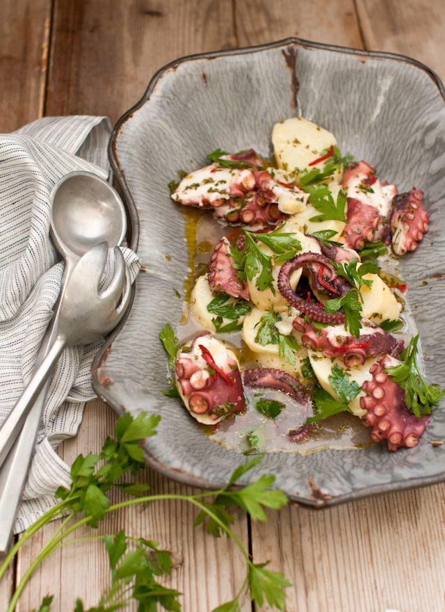 Salada de polvo / octopus salad