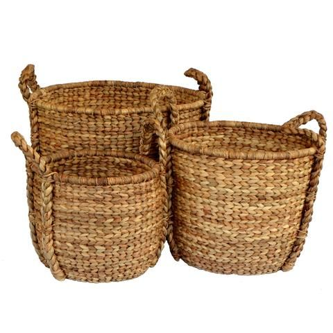 Natural Tapered Baskets