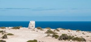 """The artist is unknown to me, but the top of the cliffs at Elliston in South Australia have quite a few interesting sculptures. """"Arno Bay to Ceduna, South Australia - Trevor's travels"""""""