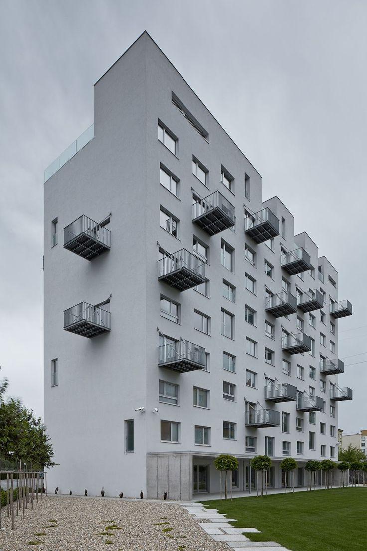Balcony design ideas in apartment grenoble france home design and - Prefab House In Rimavska Sobota Jakub Skokan A Martin T Ma Boysplaynice