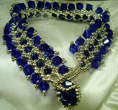 BW bracelet: Blue Bling, Beads Bracelets, Bracelets Sets, Blue Choker, Blue Beads, Bw Bracelets, Beautiful Jewerly, Photo, Necklace