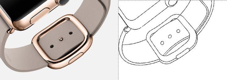 Quand #Samsung utilise des #illustrations d'Apple Watch pour étayer ses dépôts de #brevet