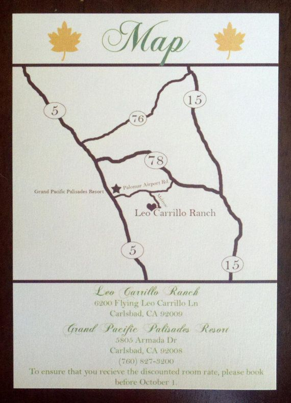 Custom Wedding Map and Direction Invitation by PaperCutCards   wedding.   Map wedding invitation, Wedding Invitations, Wedding