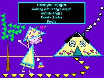 1000 ideas about exterior angles on pinterest triangle