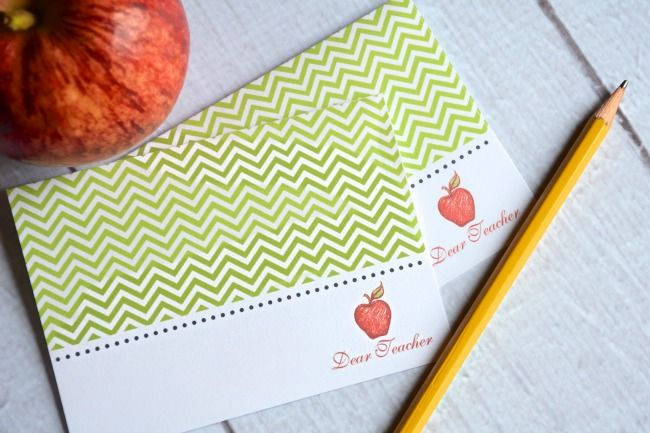 Teacher Thank You Notes {Free Printables} | The Shopping Mama