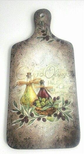 Kuchnia z oliwkami