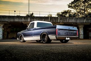 Photo feature on a 1967 Chevy C10 truck.