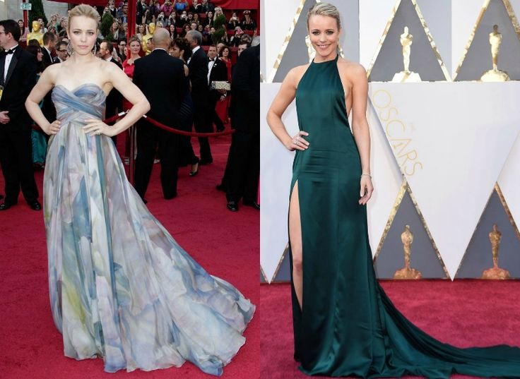 Celebrity na Oscarech tehdy a nyní - Rachel McAdams