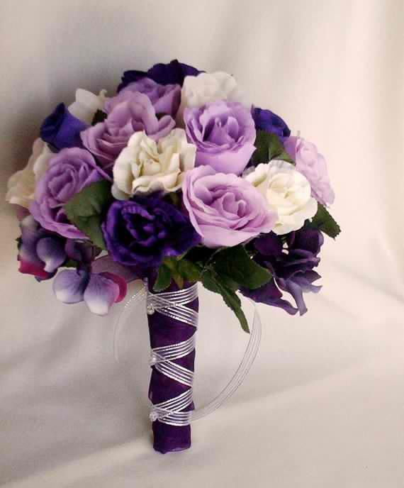 81 best Purple flowers and Bouquets images on Pinterest | Floral ...
