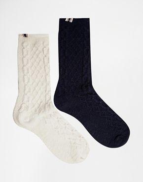 Bellfield 2 Pack Socks