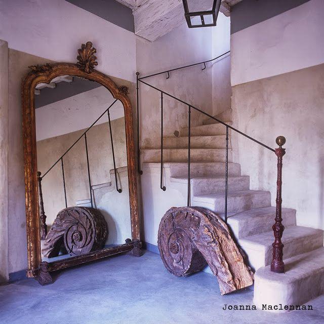 Interior design, decoration, loft, furniture, Maison provençale d'Irène Silvagni par Joanna Maclennan, photographe
