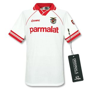 Olympic 94-95 Benfica Away shirt Original olympic release. http://www.comparestoreprices.co.uk/football-shirts/olympic-94-95-benfica-away-shirt.asp