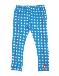 Blauwe legging voor meisjes met witte sterren - Kik*Kid