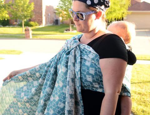 Smitten with Wovens Fatty Catty - Curaçao baby wrap