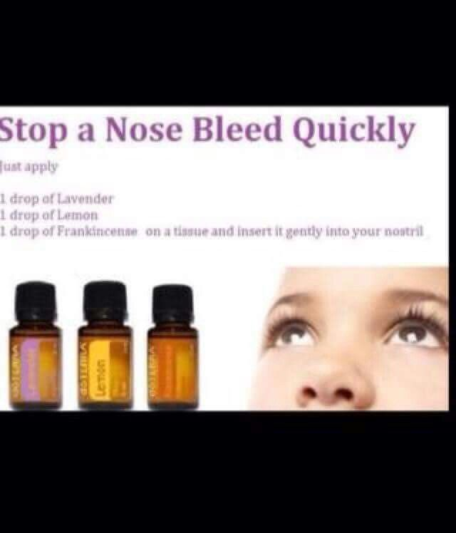 how to stop nose blistering