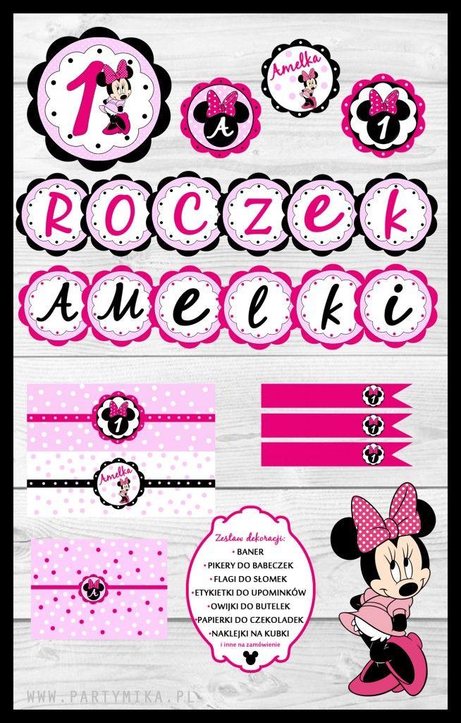 Urodziny z Myszką Minnie! - partymika