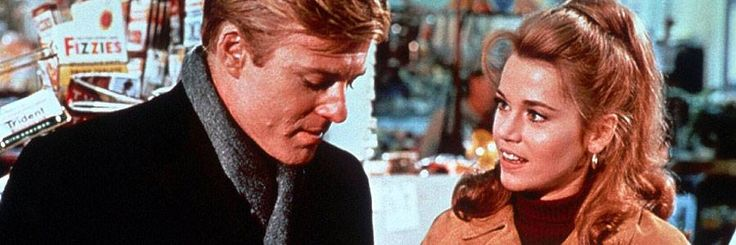 "Robert Redford and Jane Fonda in ""Barefoot in the Park"""