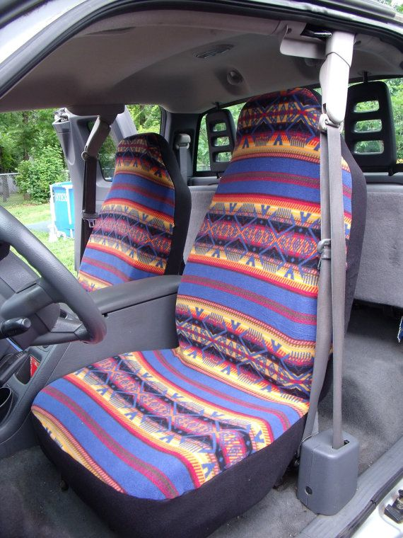 1 Set of Tribal Print Custom Made Car Seat Covers. by ChaiLinSews, $50.00