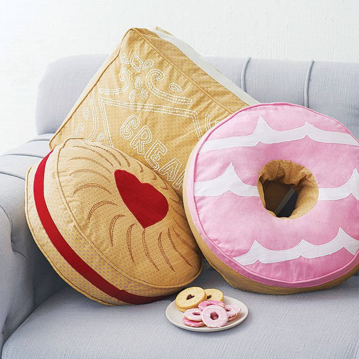biscuit cushion by lisa angel homeware and gifts | notonthehighstreet.com