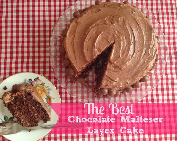 The Best Chocolate Malteser Cake