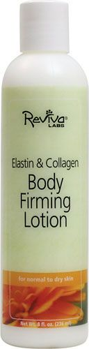 Reviva Labs Elastin & Collagen Body Firming Lotion - Helps firm skin after weight loss or pregnancy
