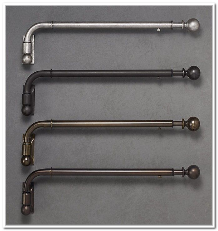 Swing Arm Curtain Rod Brackets | Projects to Try ...