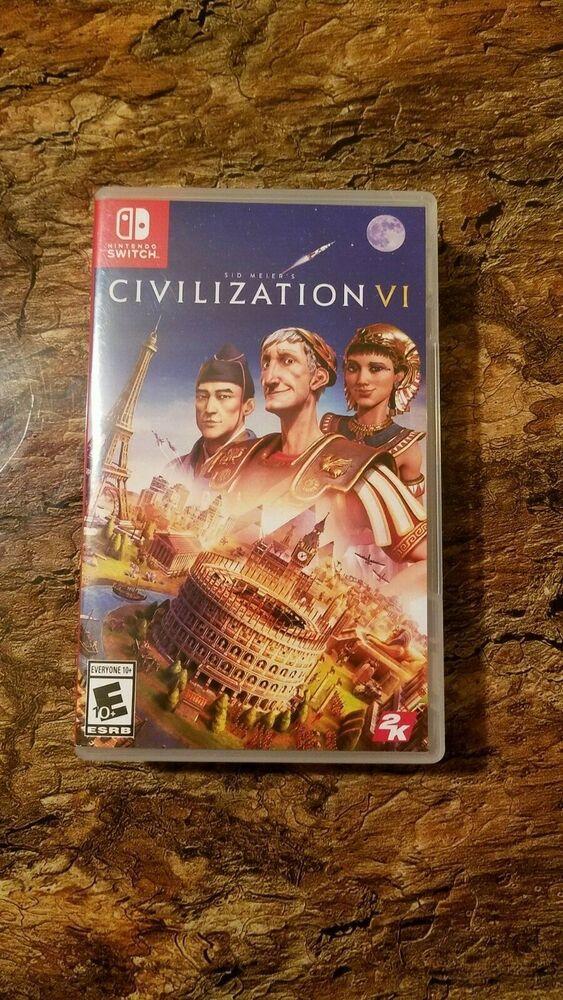Civilization VI 6 (Nintendo Switch 2018) #nintendoswitch