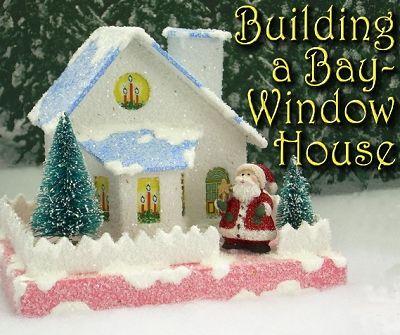 3956 Best Putz Glitter Houses Images On Pinterest