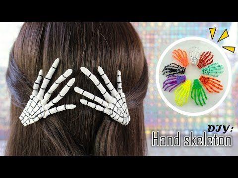 DIY: Manos De Esqueleto | Skeleton Hand | HALLOWEEN