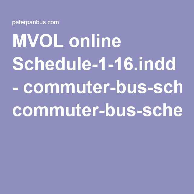 MVOL online Schedule-1-16.indd - commuter-bus-schedule-Woods-Hole-Boston.pdf
