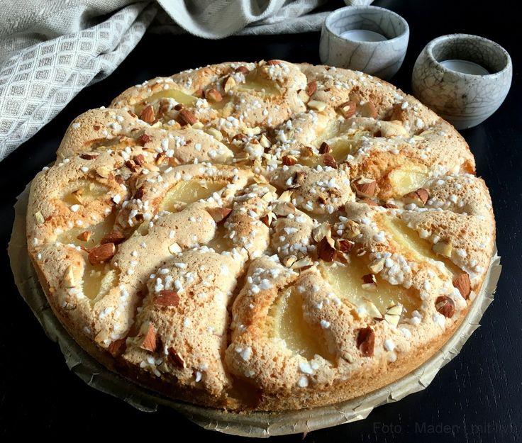 Dette her er ikke bare en forrygende lækker pæretærte - det er også verdens nemmeste pæretærte, som altid bringer lykke, når den serveres.