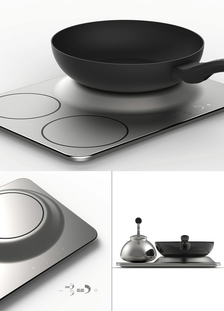 Ever run out of room on your stovetop while cooking? If so, that's probably due to the narrow spacing on a conventional induction stove. Read more at Yanko Design