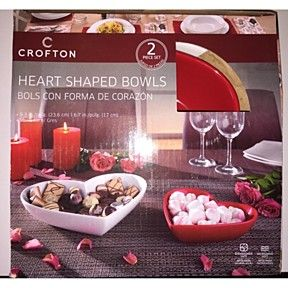 crofton.......2 piece set heart shaped bowls by save a dollar superstore on Opensky