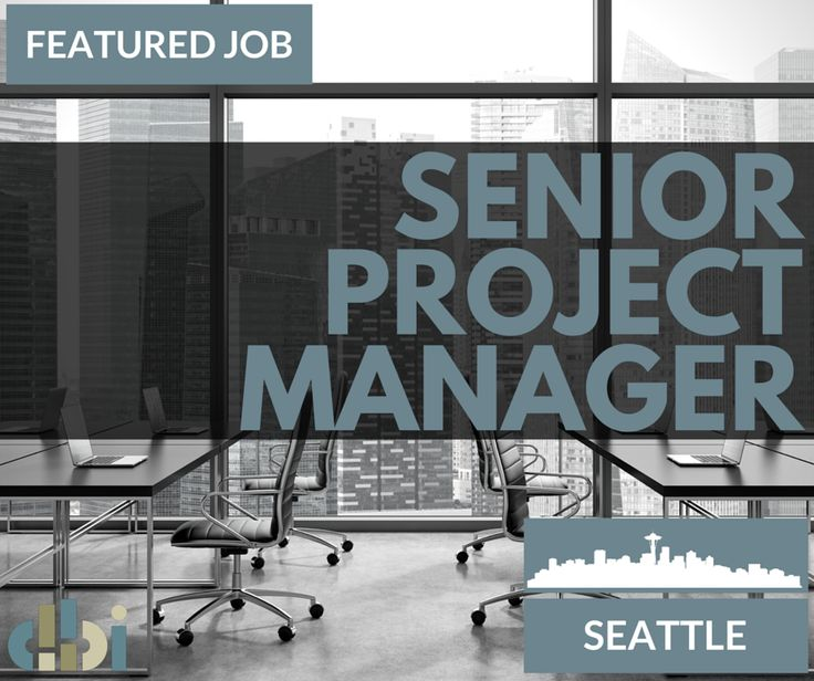 DBI Has Been Retained To Help A Global Firm With A Very Strong Local Seattle  Office Hire A Senior Project Manager. This Firm Translates Client Goals, ...