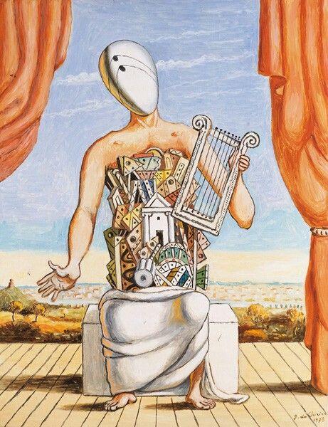 Orfeo solitario - Giorgio De Chirico - 1973