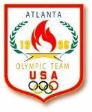 1996 Atlanta Olympics Five Rings Pin
