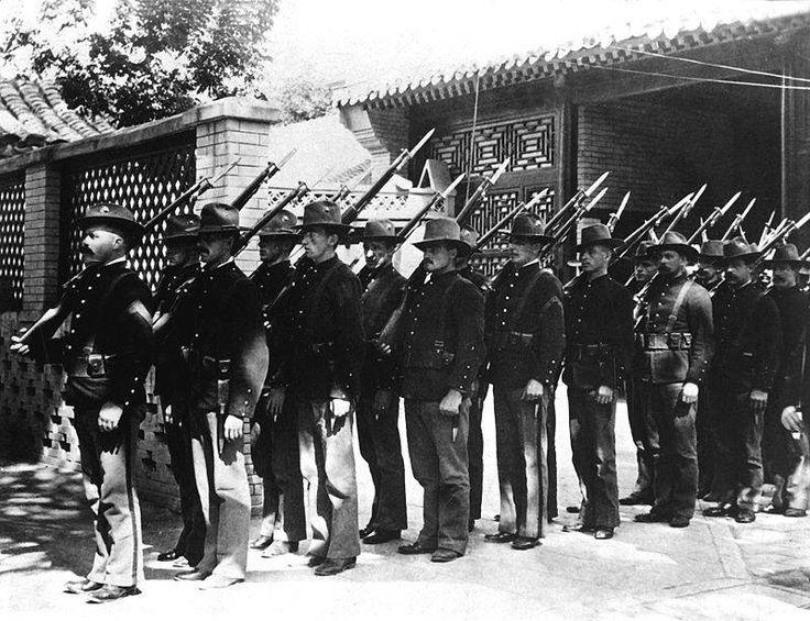 Facebook Boxer rebellion, Marine corps history, United
