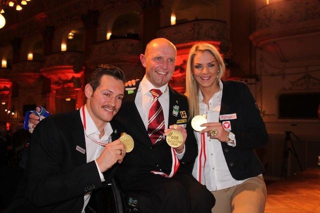 winning sports award 2012...
