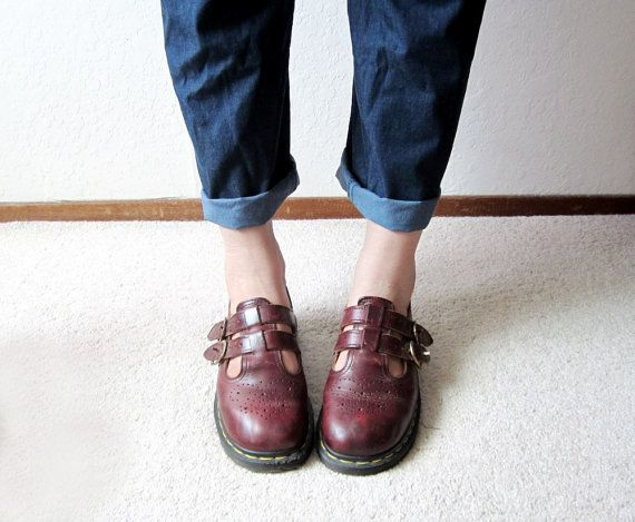 "It is beyond disturbing that my favorite shoes from high school, oxblood Dr. Martens mary janes, are now sold as ""vintage."""