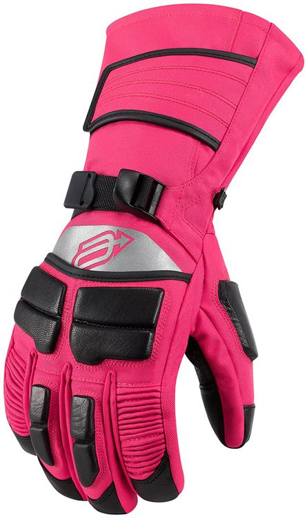 Arctiva Comp 8 Women's Snowmobile Gloves: First Place Parts