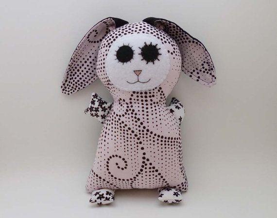 Stuffed Weird Bunny Doll – Animal Plush – Creepy Cute Soft Toy – Unusual  Rabbit 4e9c3cfee687