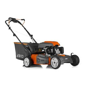 Husqvarna 190cc 22-in Self-Propelled All-Wheel Drive 3 in 1 Push Lawn Mower with Honda Engine and Mulching Capability