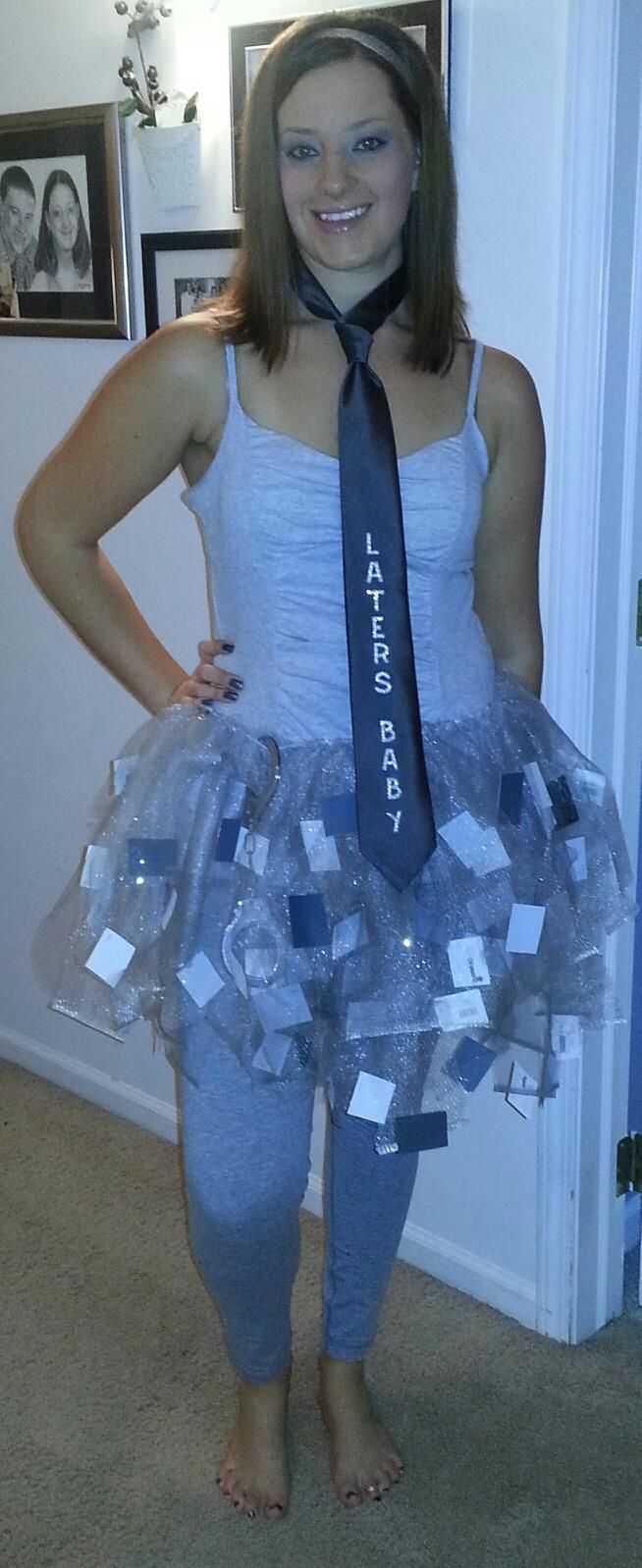 Life as a Wife: 50 shades of grey costume