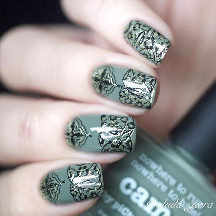 piCture pOlish = Vladislava aka @vlada_gerra wearing 'Camo'. Looks amazing thanks Vladislava ❤️❤️ www.picturepolish.com.au
