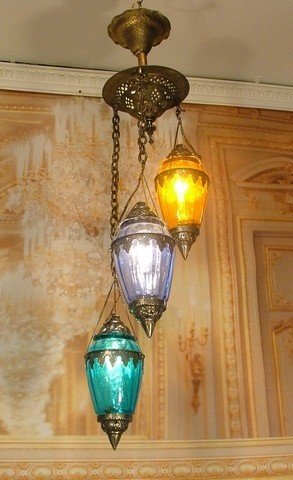beautiful antique vintage style pendant lantern silver brass chandelier glasses ebay antique light - Antique Light Fixtures