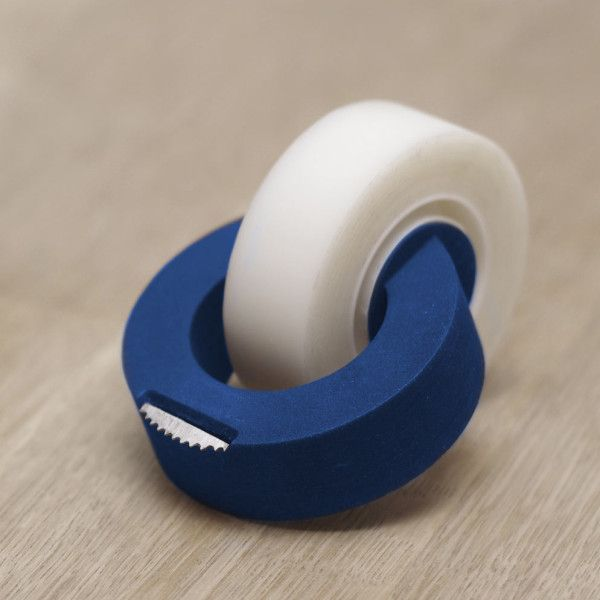 A Redesigned, Minimalist Tape Dispenser Called ClickTape