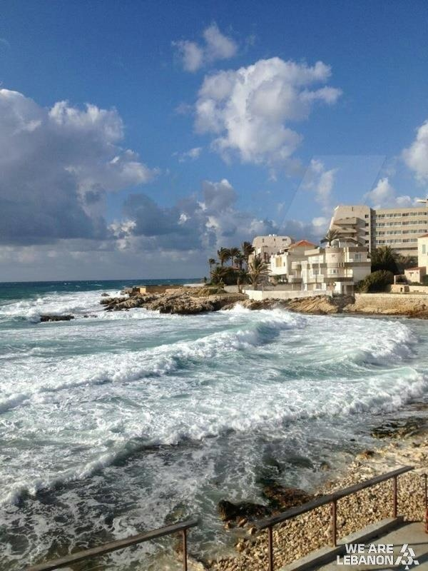 Baños Romanos Beirut:Lebanon Beach