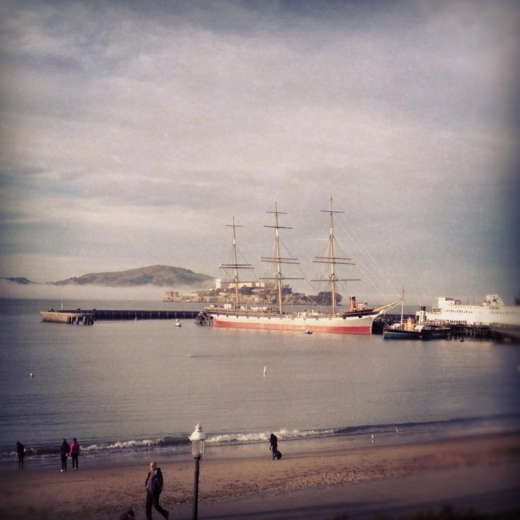 National Maritime Museum in San Francisco