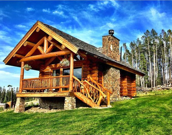 The perfect size for a log home!