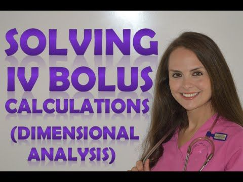 Dosage Calculations | Nursing Drug Calculations | IV Medications Problems Nursing School (Vid 2) - YouTube